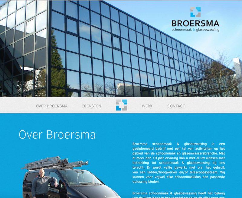 Website Broersma Schoongemak